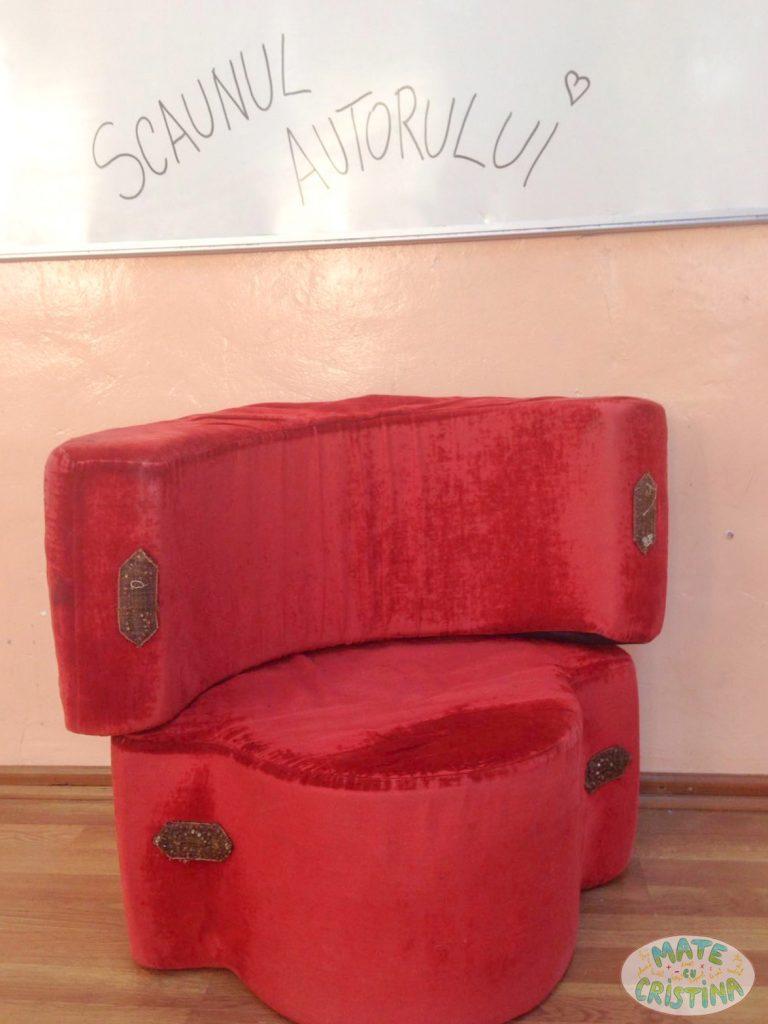 scaunul autorului